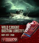 lobster shoes nike poster