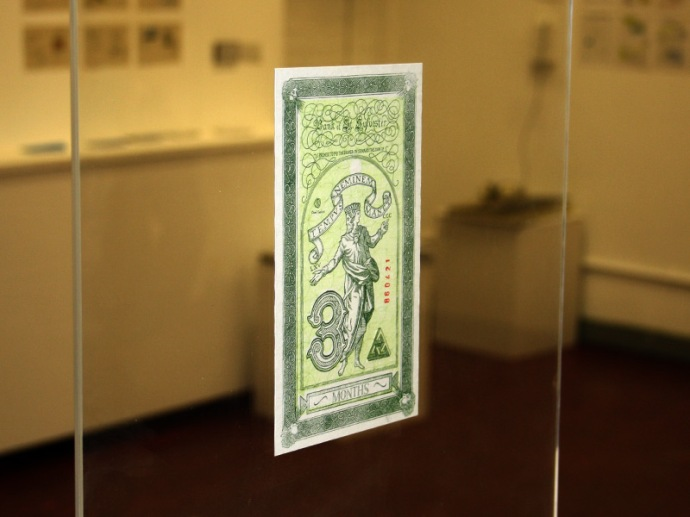 Handmade banknote bill