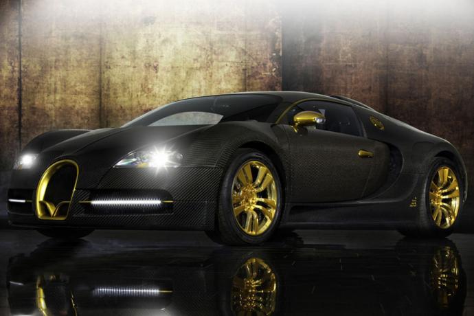 Bugatti Vincero d'Oro Masonry